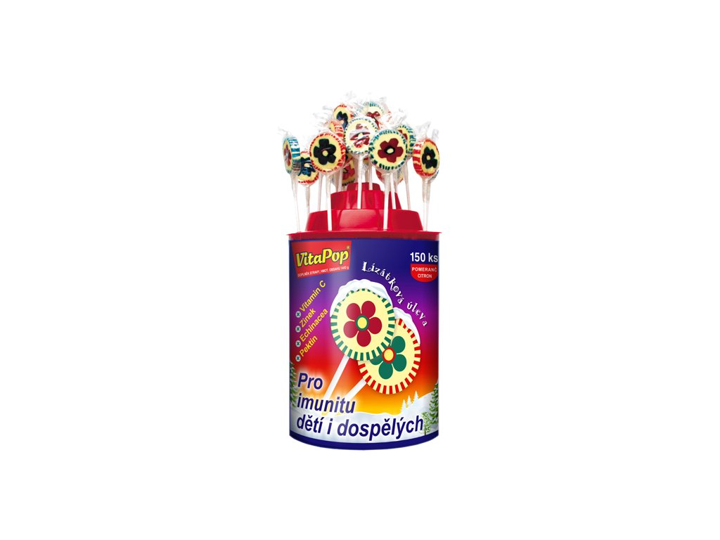VitaPop® stojan (150 lízátek)