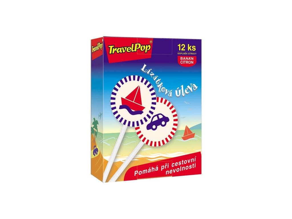 TravelPop® (12 lízátek) zleva