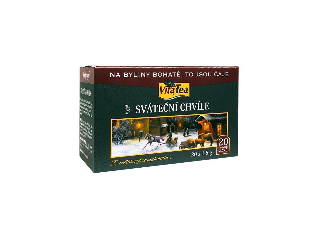 Čaj - Sváteční chvíle (20 čaj. sášků)