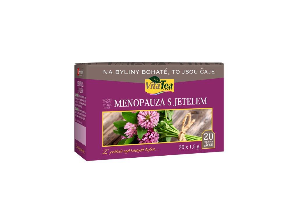 Čaj - Menopauza s jetelem (20 čaj. sášků)