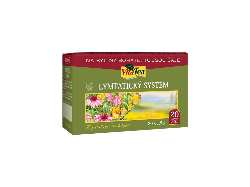 Čaj - Lymfatický systém (20 čaj. sášků)