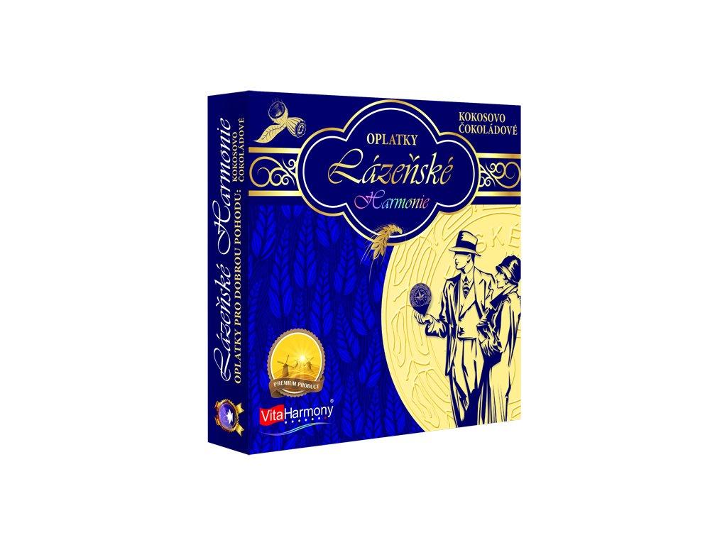Oplatky Lázeňské haromnie - Kokosovo-čokoládové