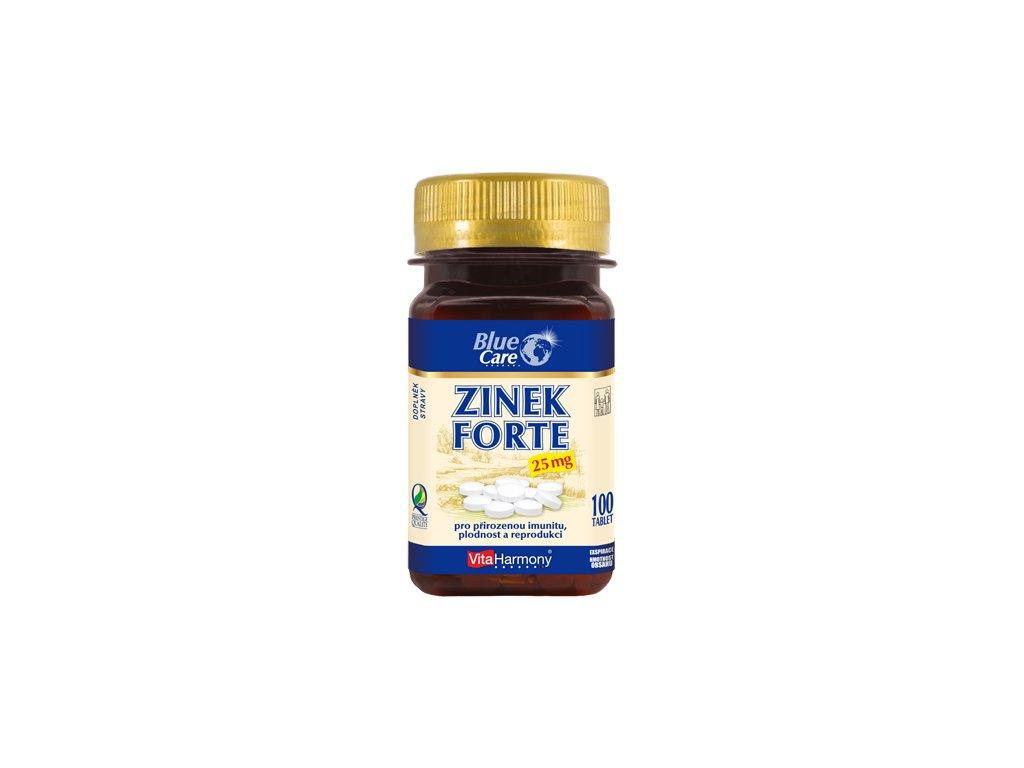Zinek Forte 25 mg (100 tbl.)