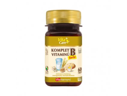 Komplet vitaminů B forte (60 tbl.)