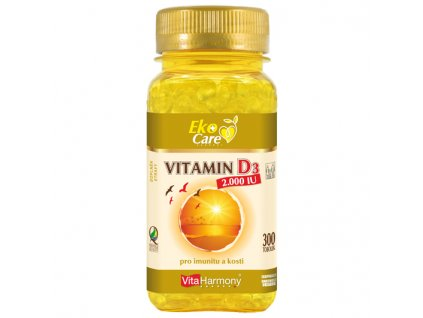 VE Vitamin D3 2.000 IU (300 tob.)