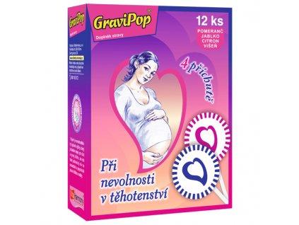 GraviPop® (12 lízátek) zleva