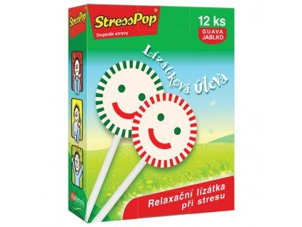 StressPop® (12 lízátek) zleva