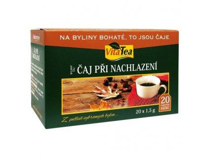 Čaj - Při nachlazení (20 čaj. sášků)