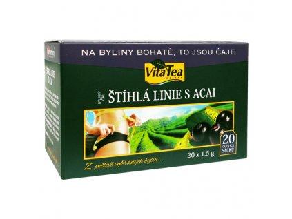 Čaj - Štíhlá linie s Acai (20 čaj. sášků)