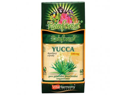 Yucca 500 mg (60 cps.)