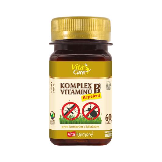 Komplex vitaminů B Repelent (60 tbl.)
