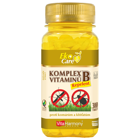 Komplex vitaminů B Repelent (300 tbl.) Eko