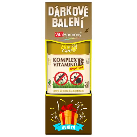 Dárkové balení - Komplex vitaminů B Repelent (300 tbl.)