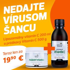 Výhodná sada Práškového a Lipozomálneho vitamínu C