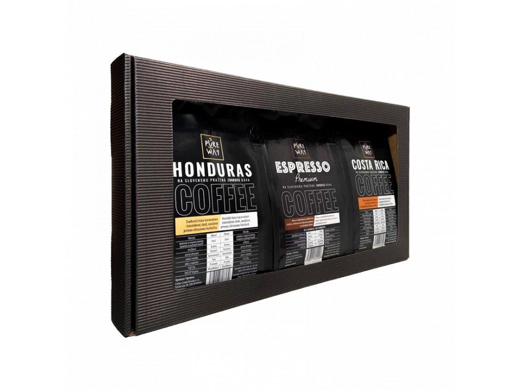 Pureway DARCEKOVY SET espresso costa rica honduras