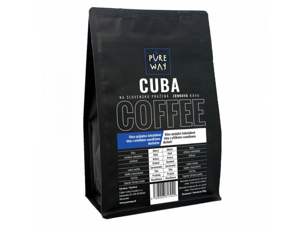 Pureway Cuba 200g zrnková