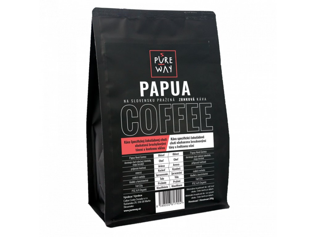 Pureway Papua 200g zrnková