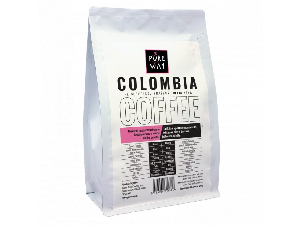 Pureway Colombia 200g mleta