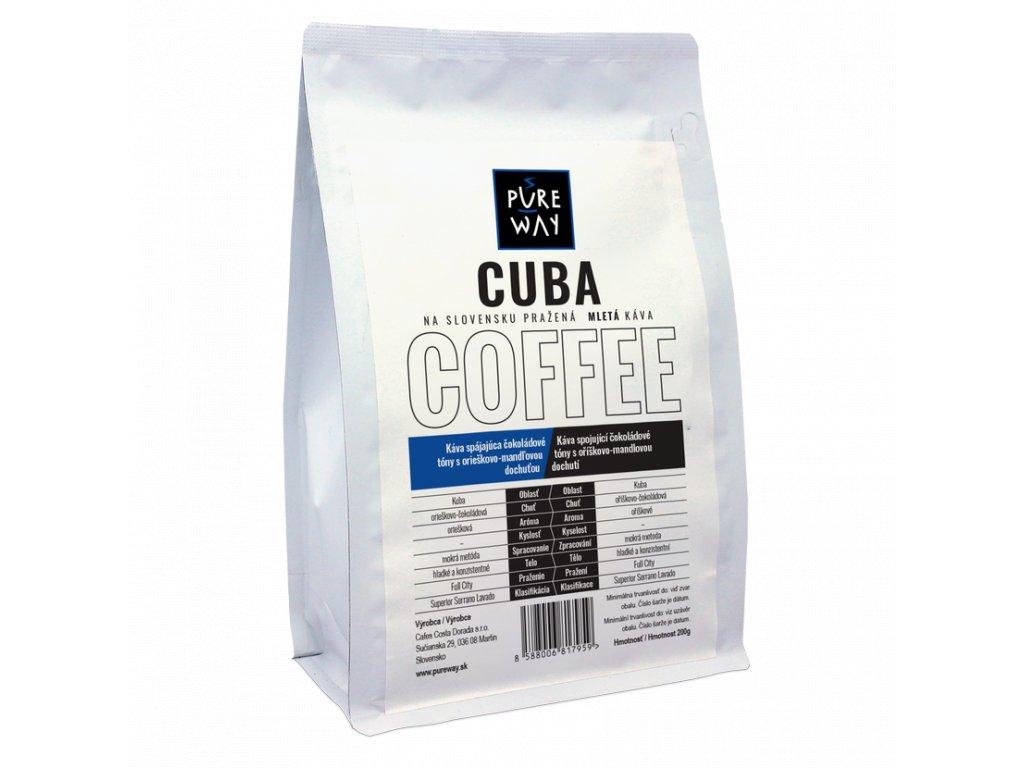 Pureway Cuba 200g mleta