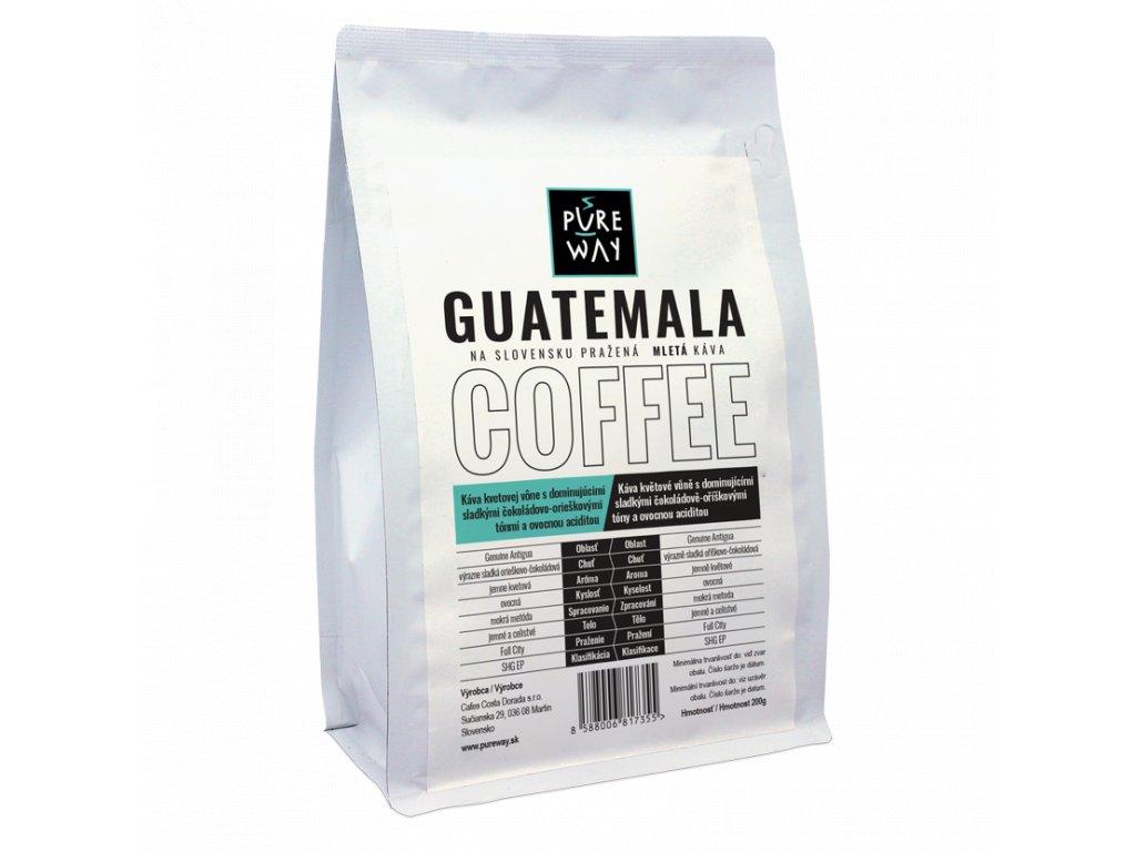 Pureway Guatemala 200g mletá