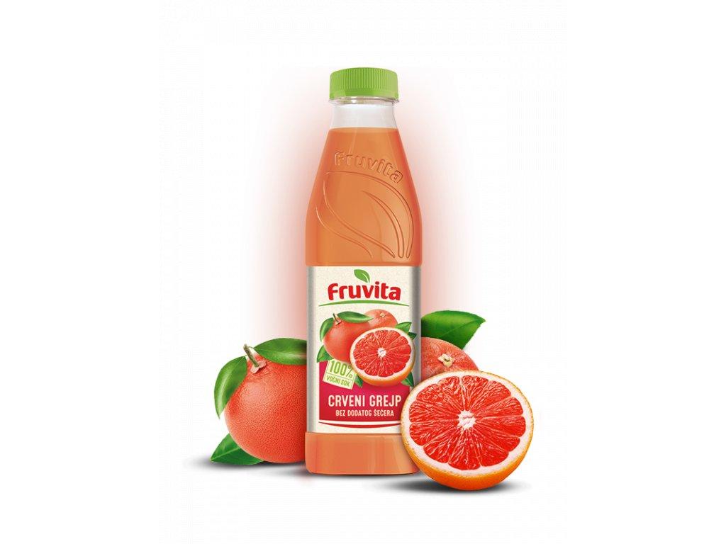 Fruvit červeny grep 750 ml