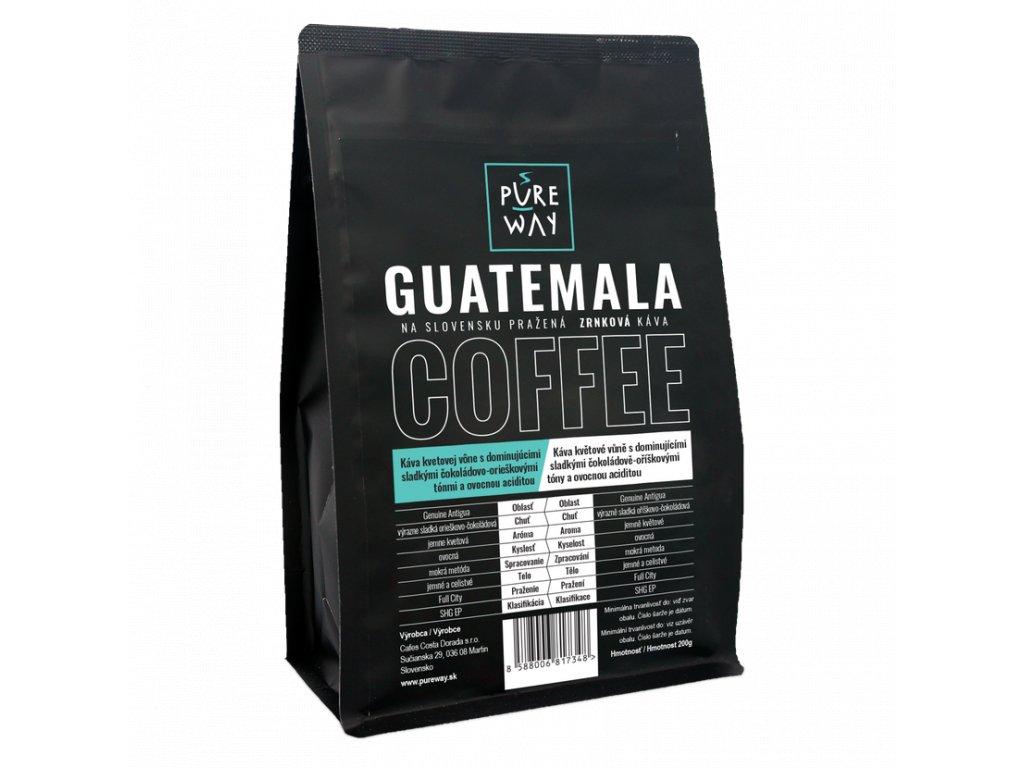 Guatemala 200g zrnková