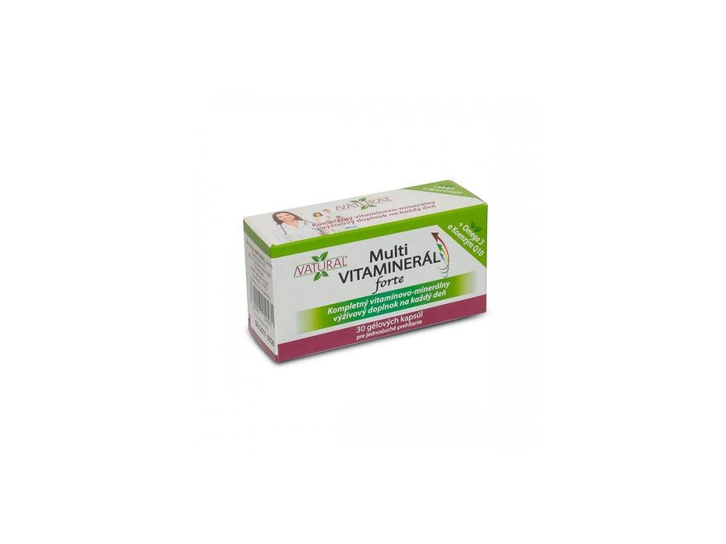 MULTI Vitaminerál FORTE 30 kapsúl 500x500