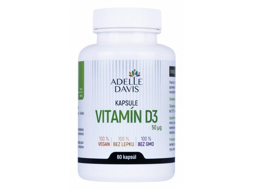 adelle davis vitamin d3 60 kapsul