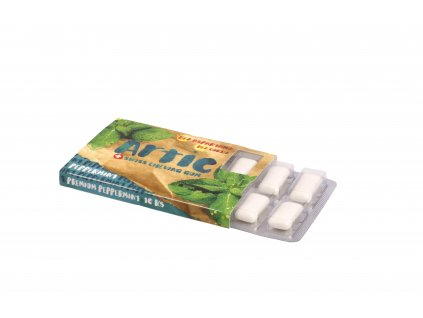 Žuvačky bez aspartamu Artic Premium Peppermint 10ks