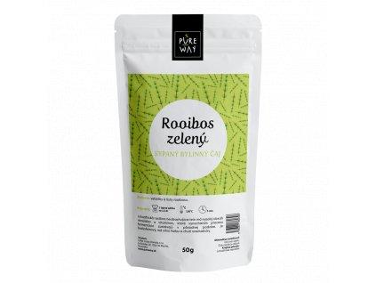 rooibos zelený tea