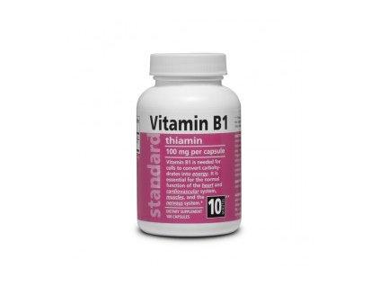 Vitamín B1 Thiamín 100mg 100 kapsúl 295x275