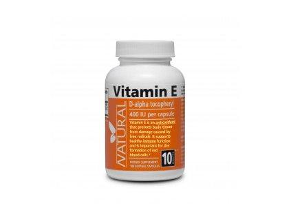 Vitamín E 400 IU prírodný NATURAL 100 kapsúl