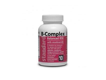 Vitamín B komplex 50 mg 100 kapsúl 295x275