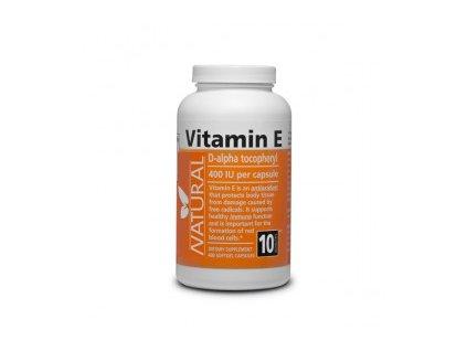 Vitamín E 400 IU Natural prírodný 400 kapsúl