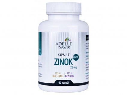 zinok forte adelle davis 25 mg 60 kapsul