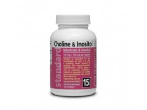 Cholin a Inozitol Bitartrate a inositol 125 mg + 125 mg 100 kapsúl 295x275