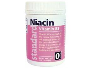 Vitamín B3 niacín, prášok 113g