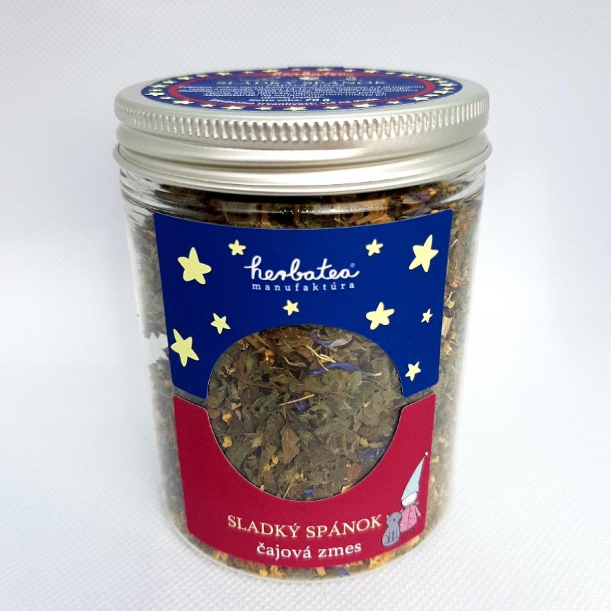 Sladký spánok čajová zmes 70g, Herbatea