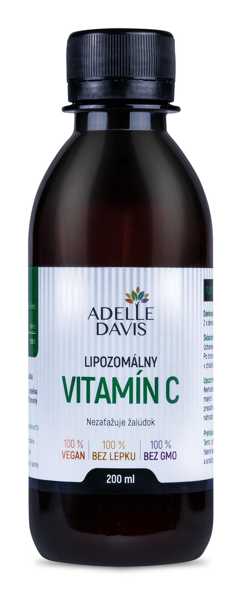 Adelle Davis - Lipozomálny vitamín C, 200 ml