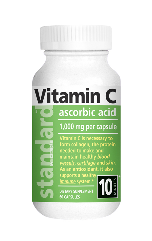 NuLab Vitamín C 1000 mg, 60 kapsúl