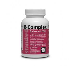 NATURAL Vitamín B komplex 50 mg, 100 kapsúl