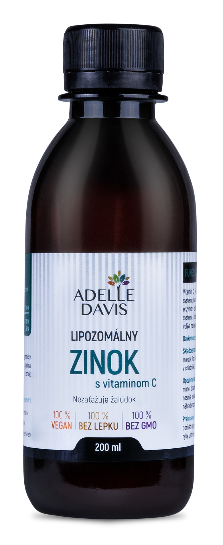 Adelle Davis - Lipozomálny zinok, 200 ml