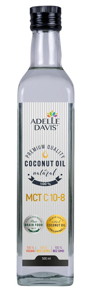Adelle Davis - MCT olej C10-8, 500 ml