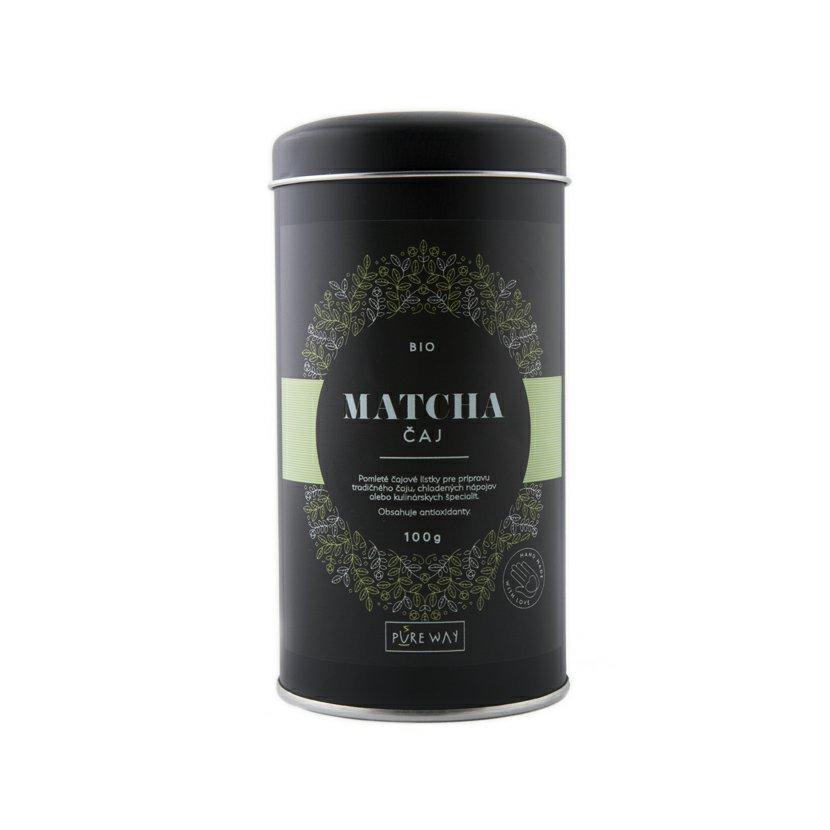 Pure Way Matcha bio zelený čaj 100g