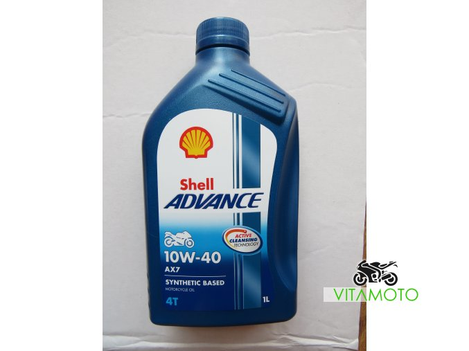 Shell Advance 10W-40 objem 1 l