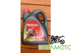 Platinum Rider 10W-40 objem 4 litry