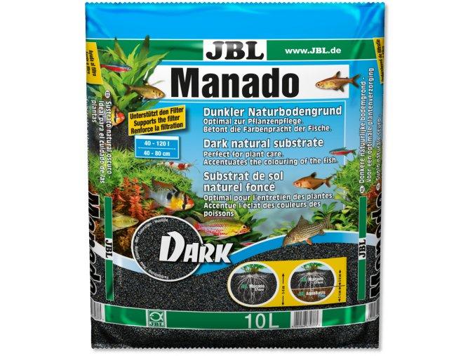 jbl manado dark 10l substrat noir tout en un pour decoration et fertilisation en aquarium