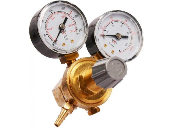 CO2 redukční ventil se dvěma manometry W21.8