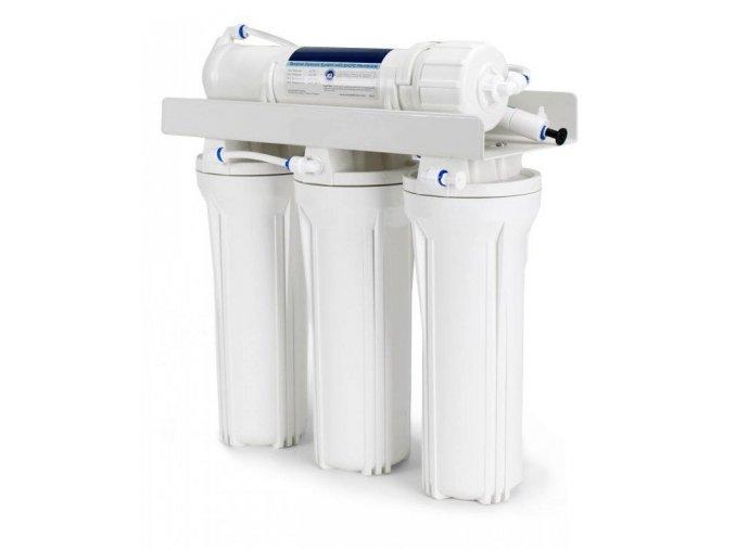 Čtyřstupňová reverzní osmóza pro akvaristiku s DI filtrem  + oplachovací ventil zdarma