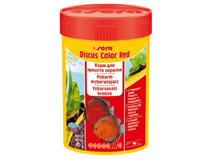 sera discus color red 100 ml